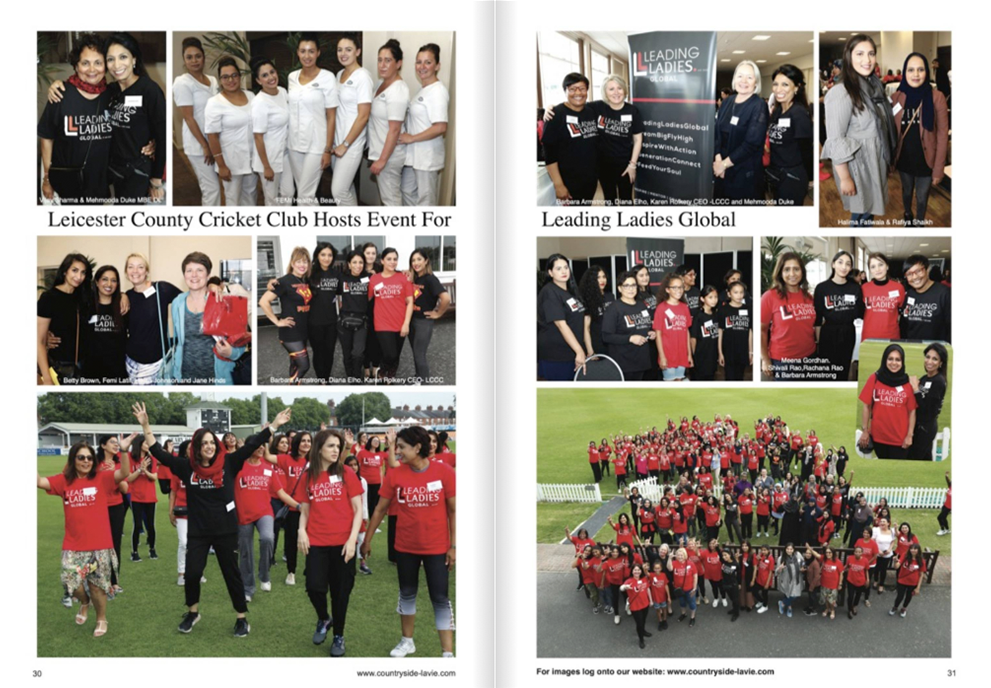 Leicester County Cricket Club host event for Leading Ladies Global